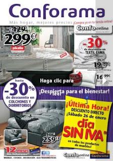catalogo conforama enero 2013