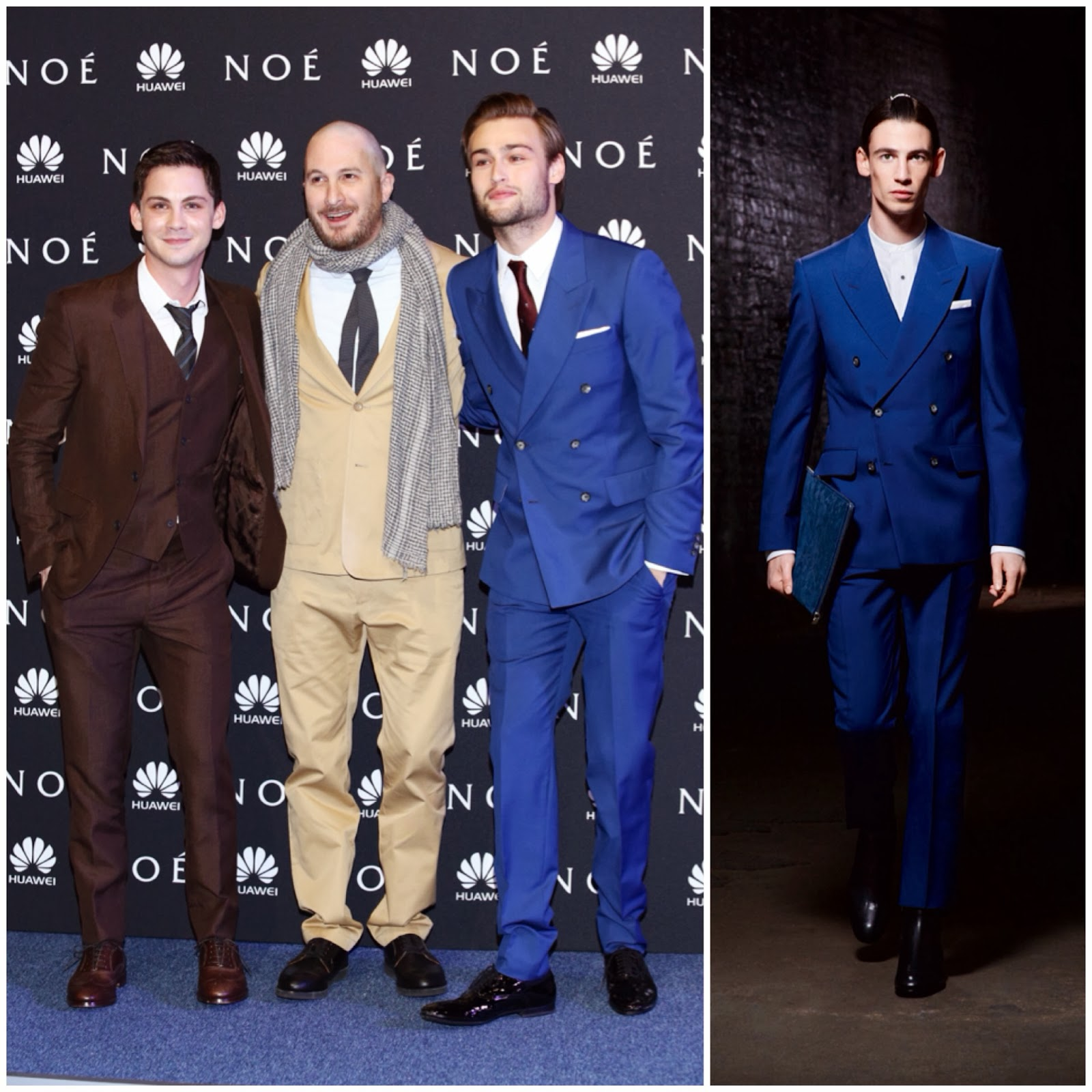 Douglas Booth in Alexander McQueen - 'Noah' World Premiere, Mexico City