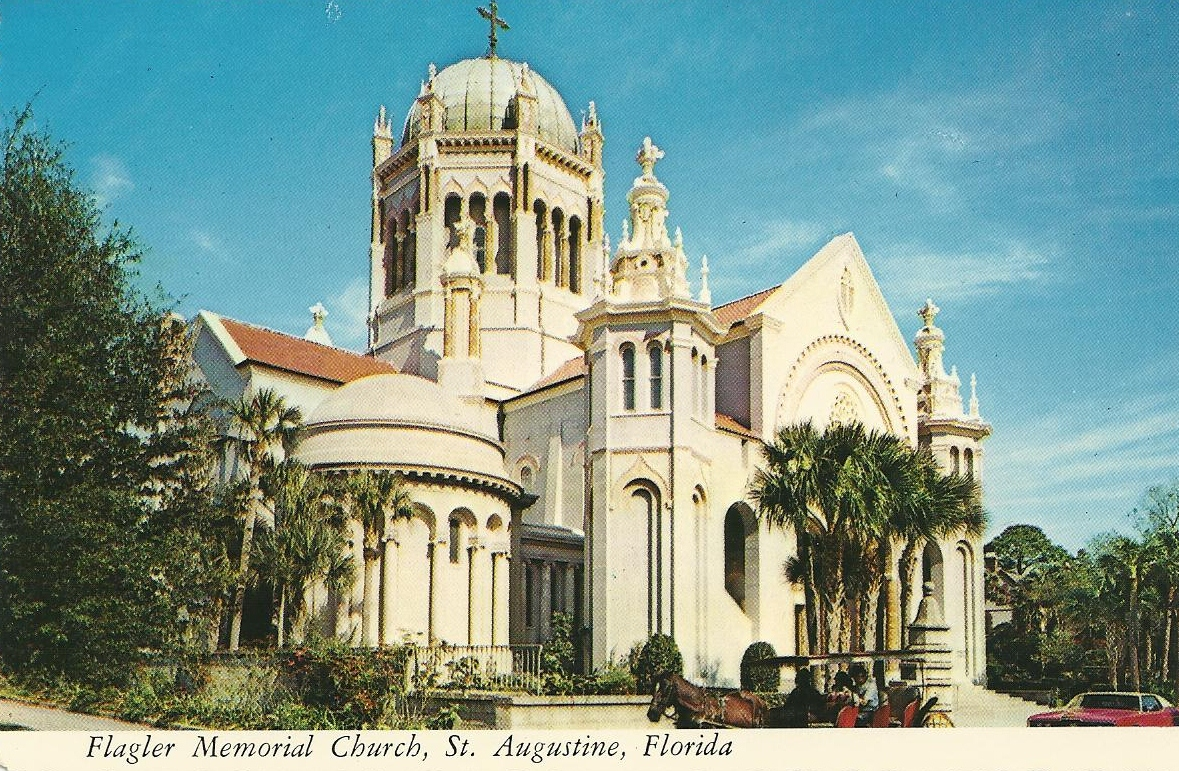 Vintage travel postcards june 2012 Architect florida