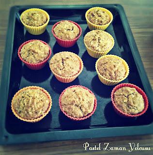 Havuçlu Tarçınlı Muffin Tarifi, Kakaolu Muffin Tarifi, Muffin Tarifi