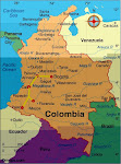 Colombia Route Map