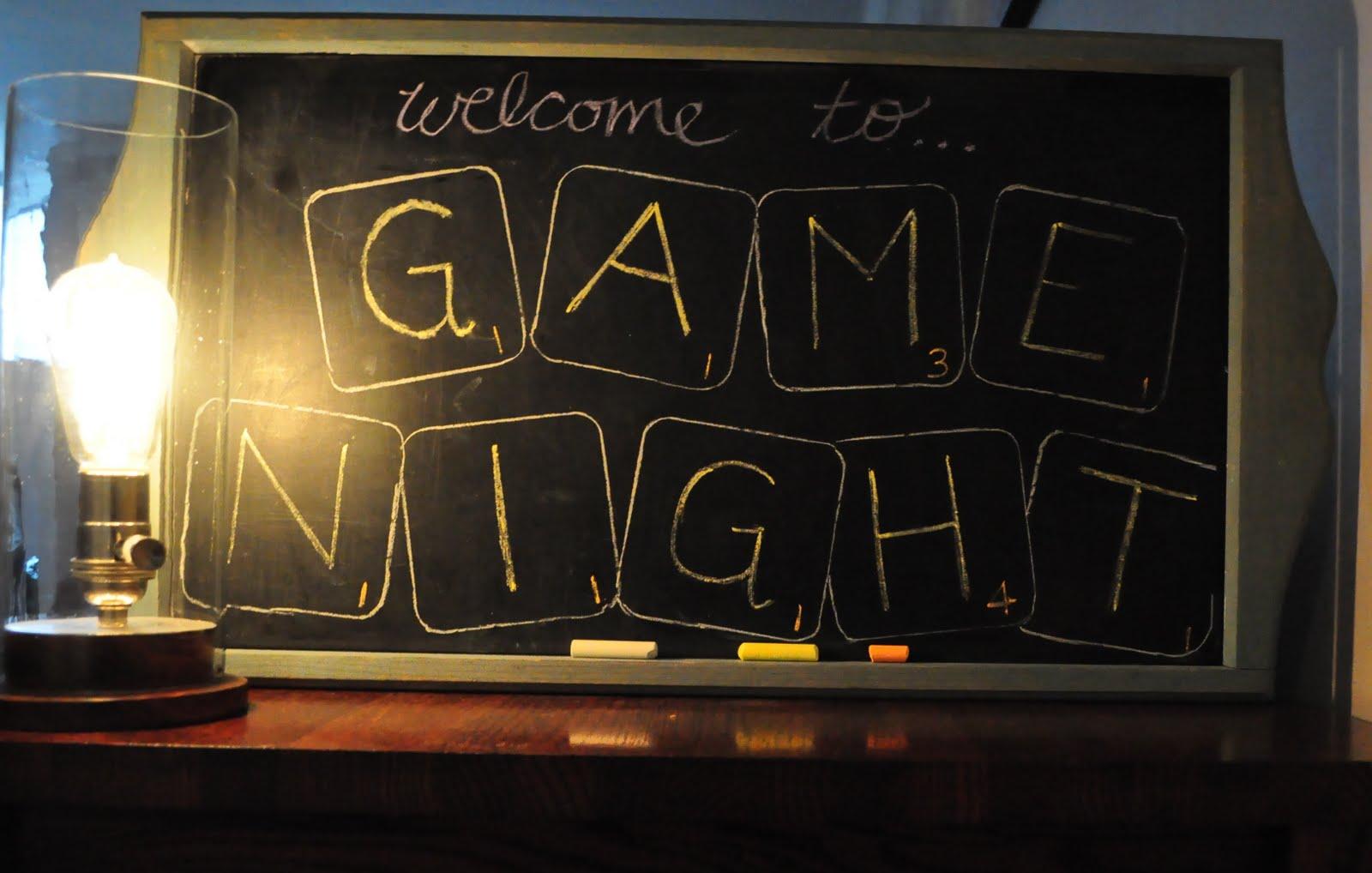 Board Game Night Logo Hosting a Board Game Night
