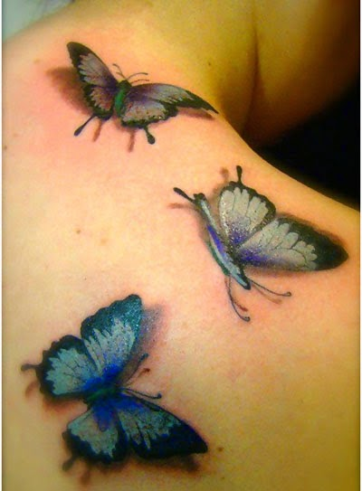 cute butterfly tattoos