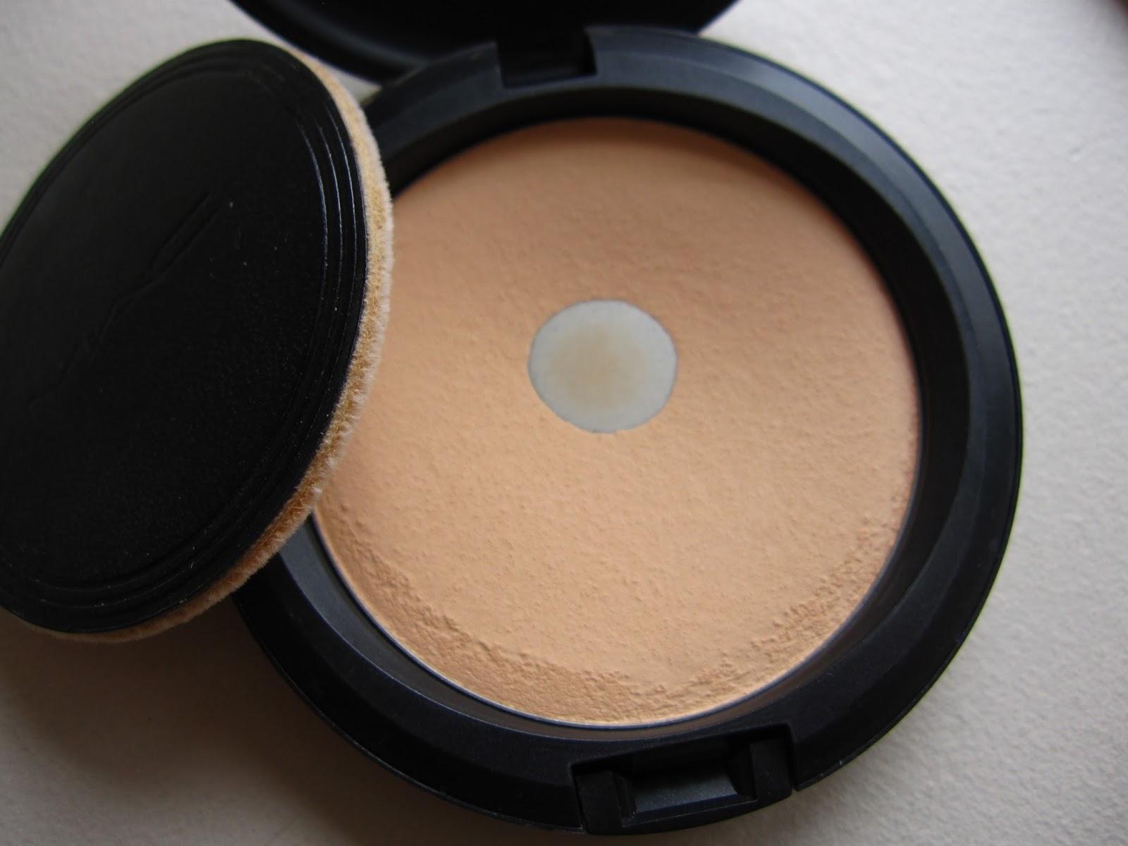 MAC studio careblend pressed powder review light plus