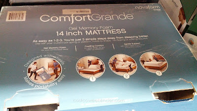 Innocor Comfort Novaform ComfortGrande Queen Mattress for a good night's rest