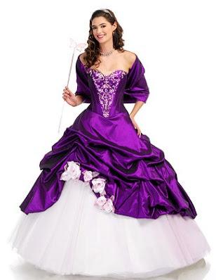 morado vestido de 15 a os quincea era color morado vestido de 15