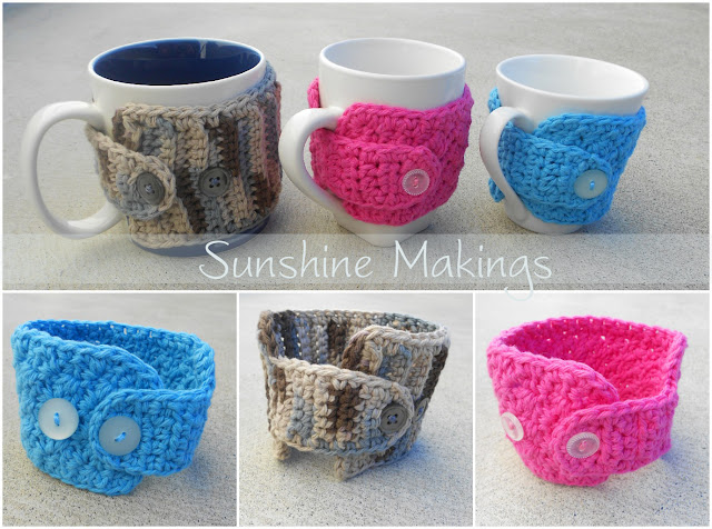 Coffee Mug Cosies : Sunshine Makings
