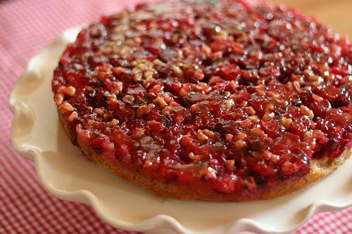 Cranberry Pumpkin Upside Down Cake Yummly
