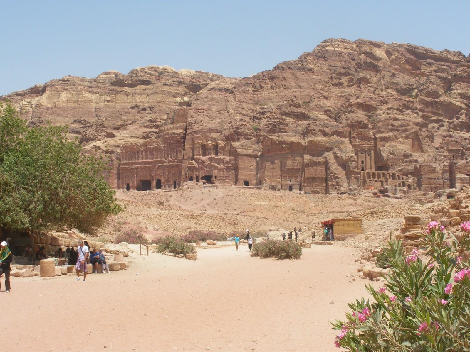 jordania desierto petra