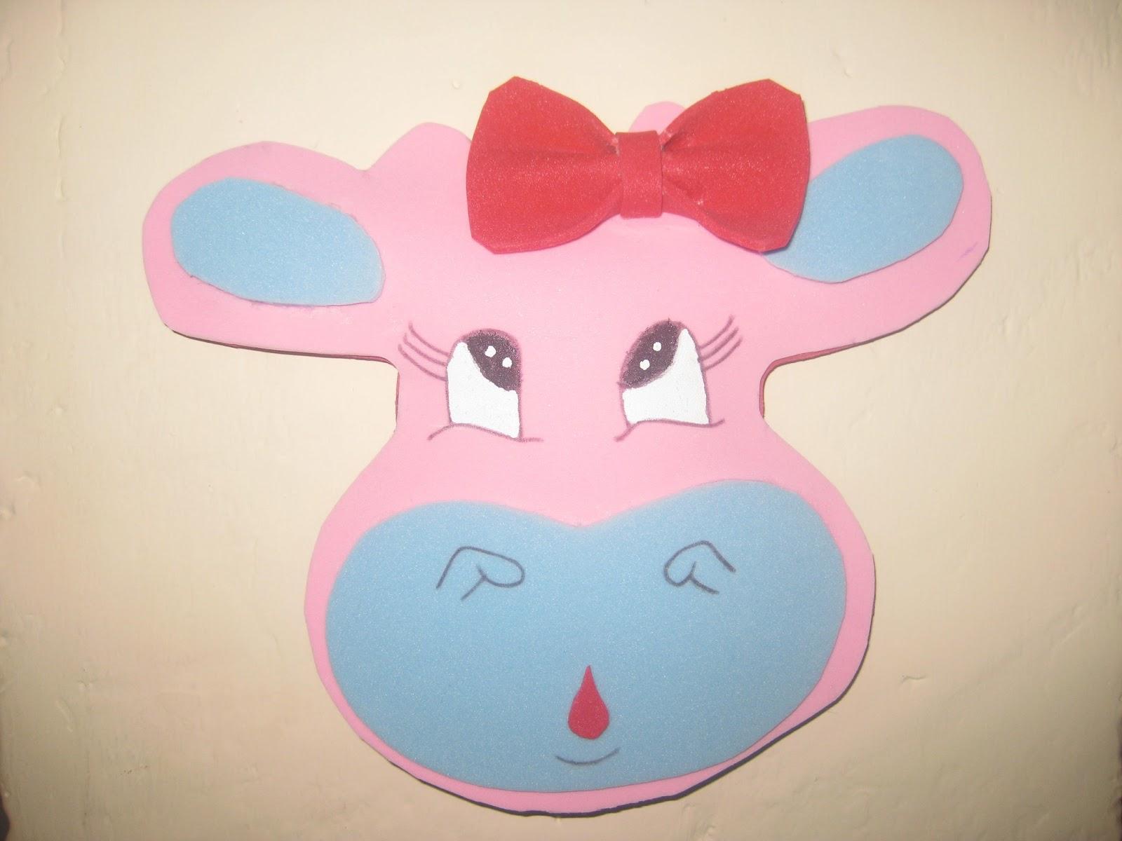 Como hacer una mascara de vaca c 243 mo hacer la cara de - Como hacer una mascara ...