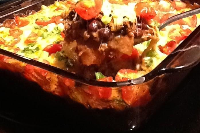 Good Food Tutor: Fiesta Taco Casserole