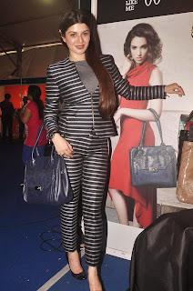 Kainaat Arora in Zebra Print Suit at Femina Carnival Inauguration Mumbai 2014