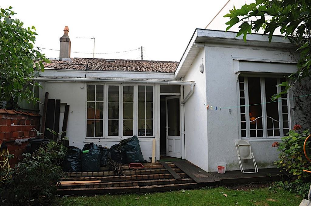 Aquitania domus r novation et agrandissement maison for Agrandissement maison 4 pentes