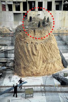 Kubur Unik Dikelilingi Projek Kediaman
