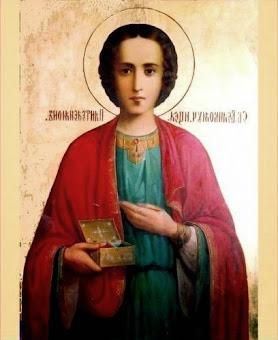 Azi 27 iulie praznuirea Sfantului Mare Mucenic Pantelimon !