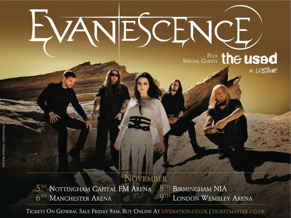"Gira >> ""The Evanescence Tour"" - Página 9 UK+TOUR+-+EVANESCENCE+ROCK+BRASIL"