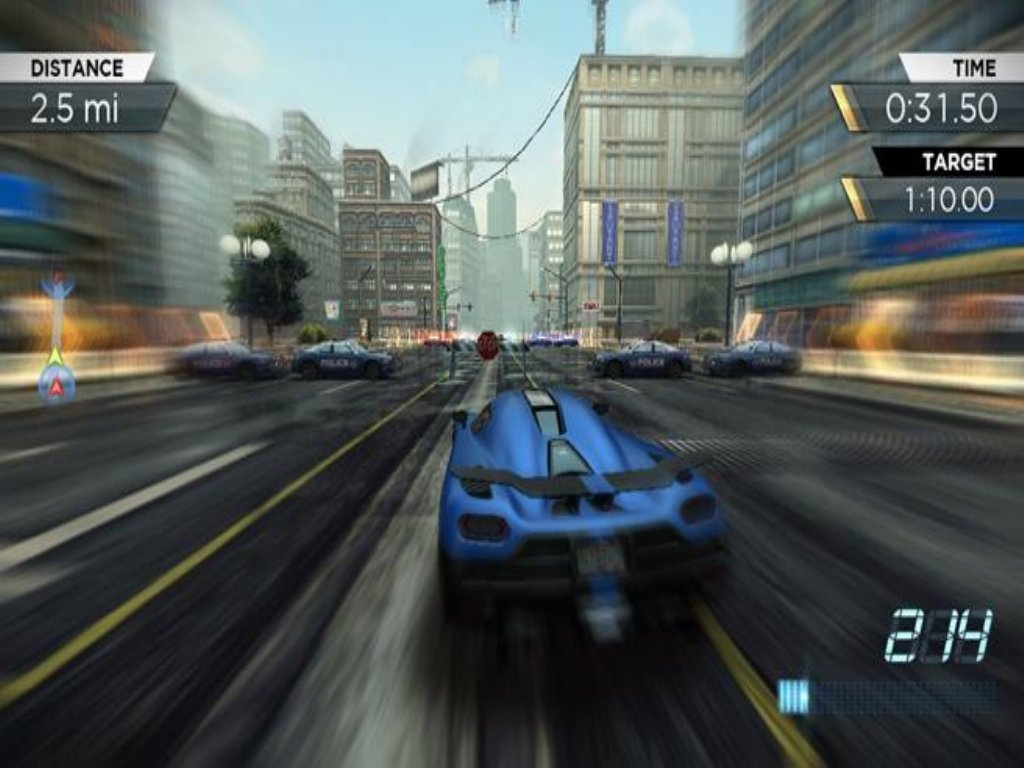 Need For Speed Most Wanted Game ScreenShot