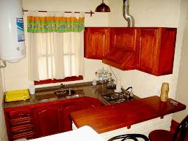 Cocina cabaña principal