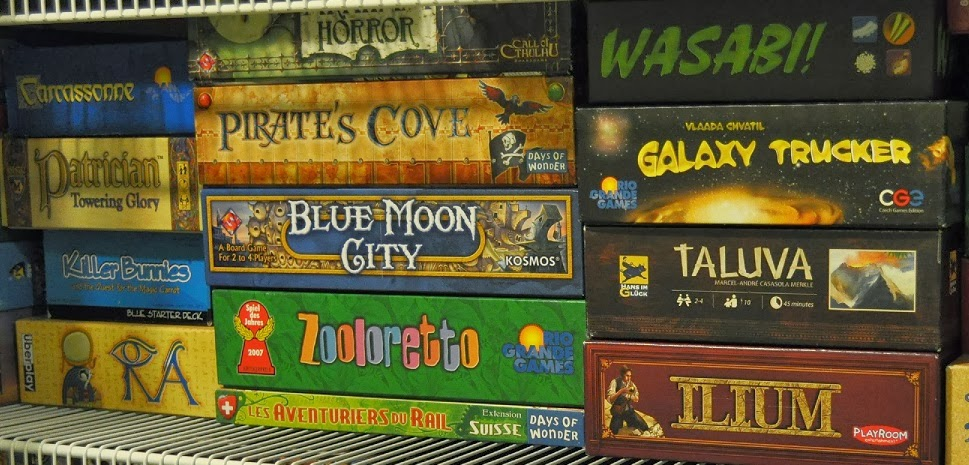 TalkieToaster's Board Games