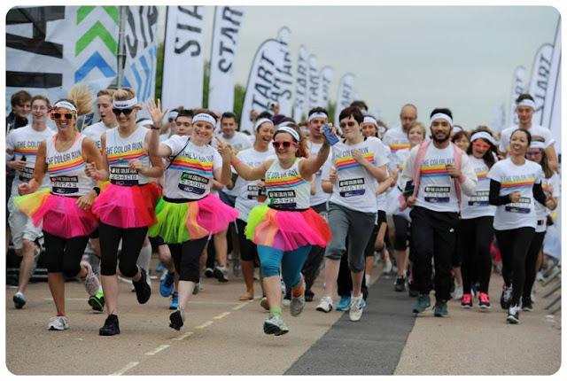 Brighton Color Run 2013