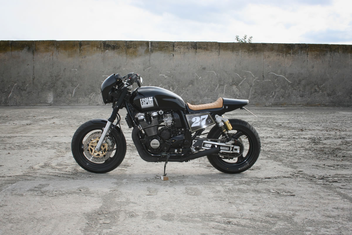 custom yamaha xjr 1200 side profile