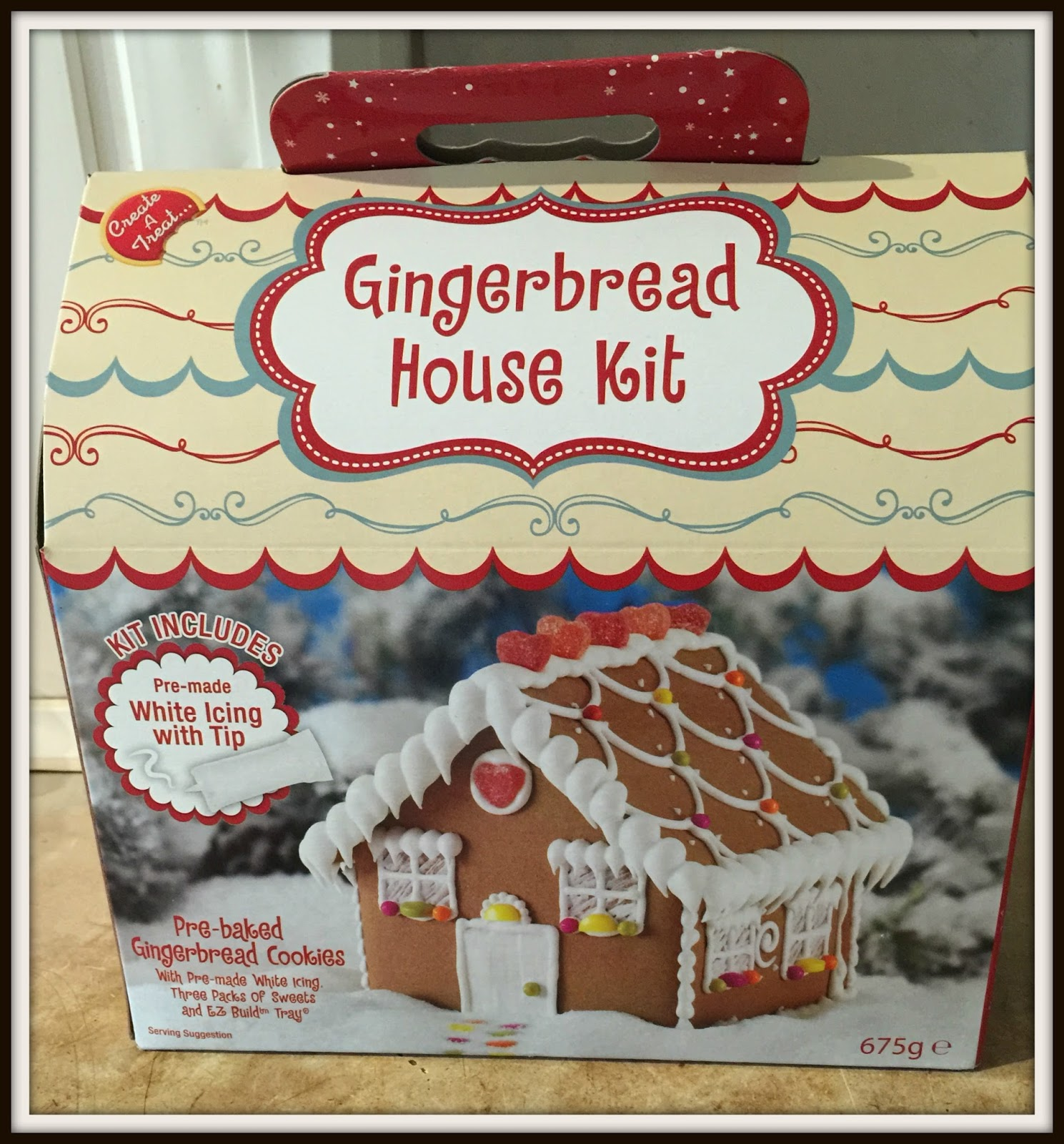 Premade Gingerbread Houses Create A Treat Gingerbread House Kit From Asda Review Glitz And