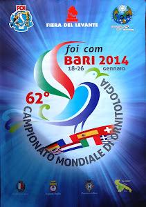 62º Campeonato do Mundo Ornitologia - BARI, Italia 2014