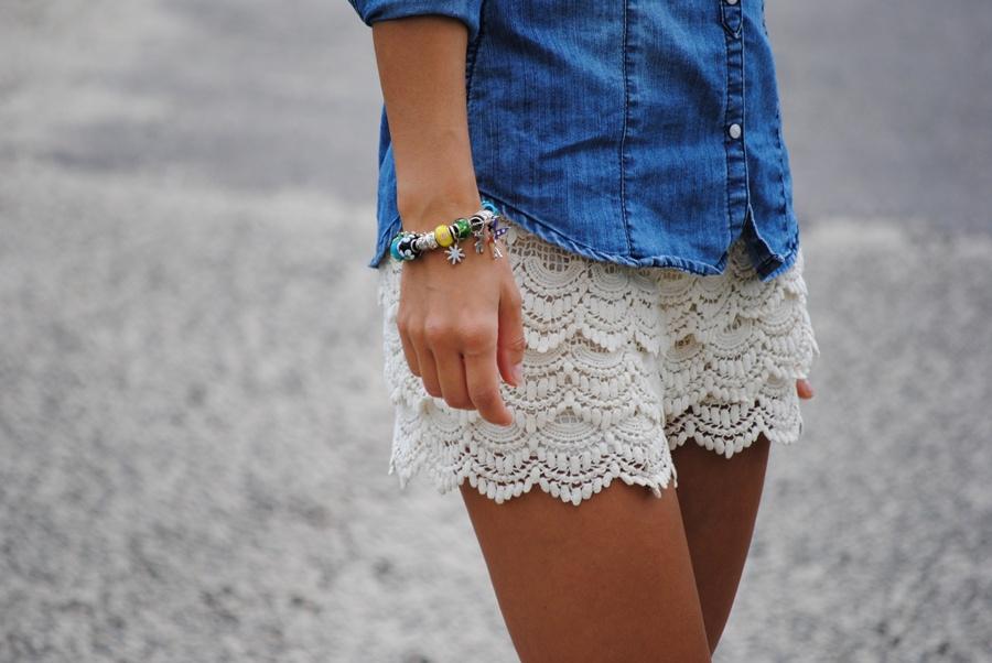 Lace Shorts - Lace Short