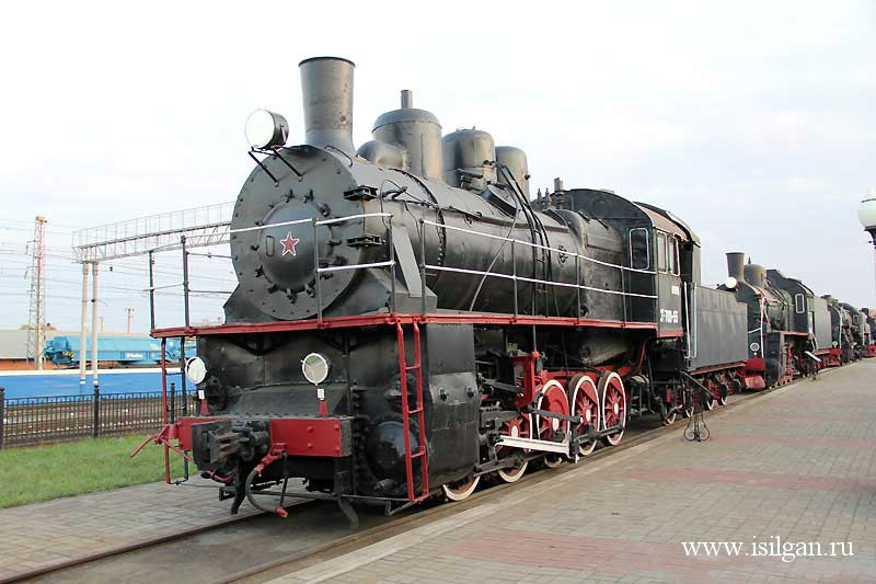 Eu700-55 steam locomotive