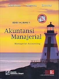 toko buku rahma: buku akuntansi manajerial, pengarag garrison, penerbit salemba empat