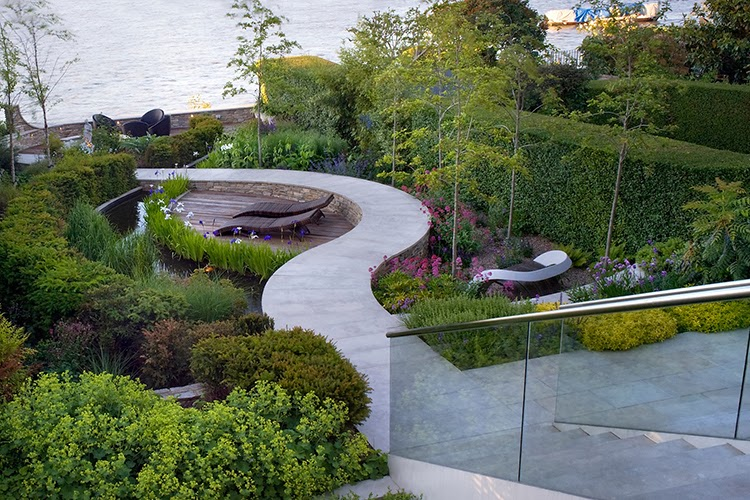 the impatient gardener: discovering garden styles: modern gardens, Best garten ideen