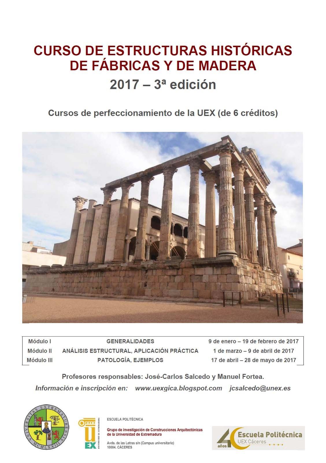 CURSO DE PERFECCIONAMIENTO ON LINE. Próxima edición en 2017