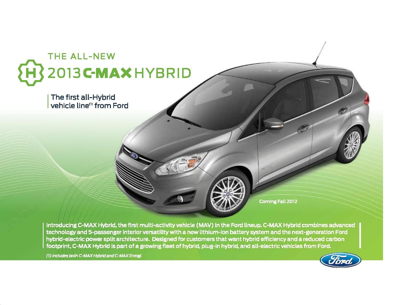 Ed koehn ford lincoln the all new 2013 c max hybrid