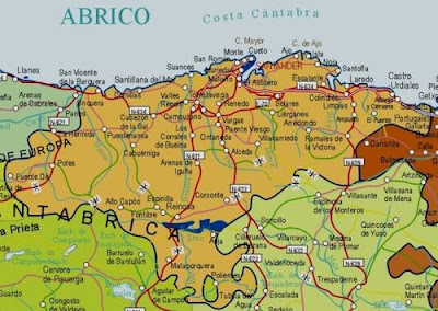 Cantabria Map Picture