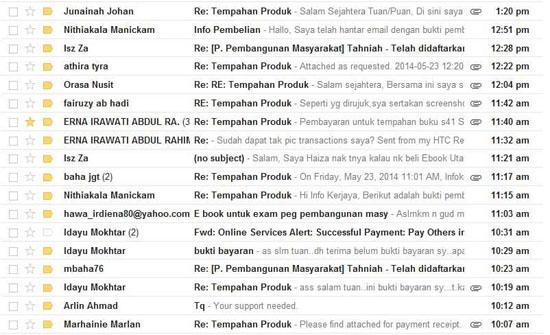 Bukti produk affiliate terbaik Tim Infokerjaya