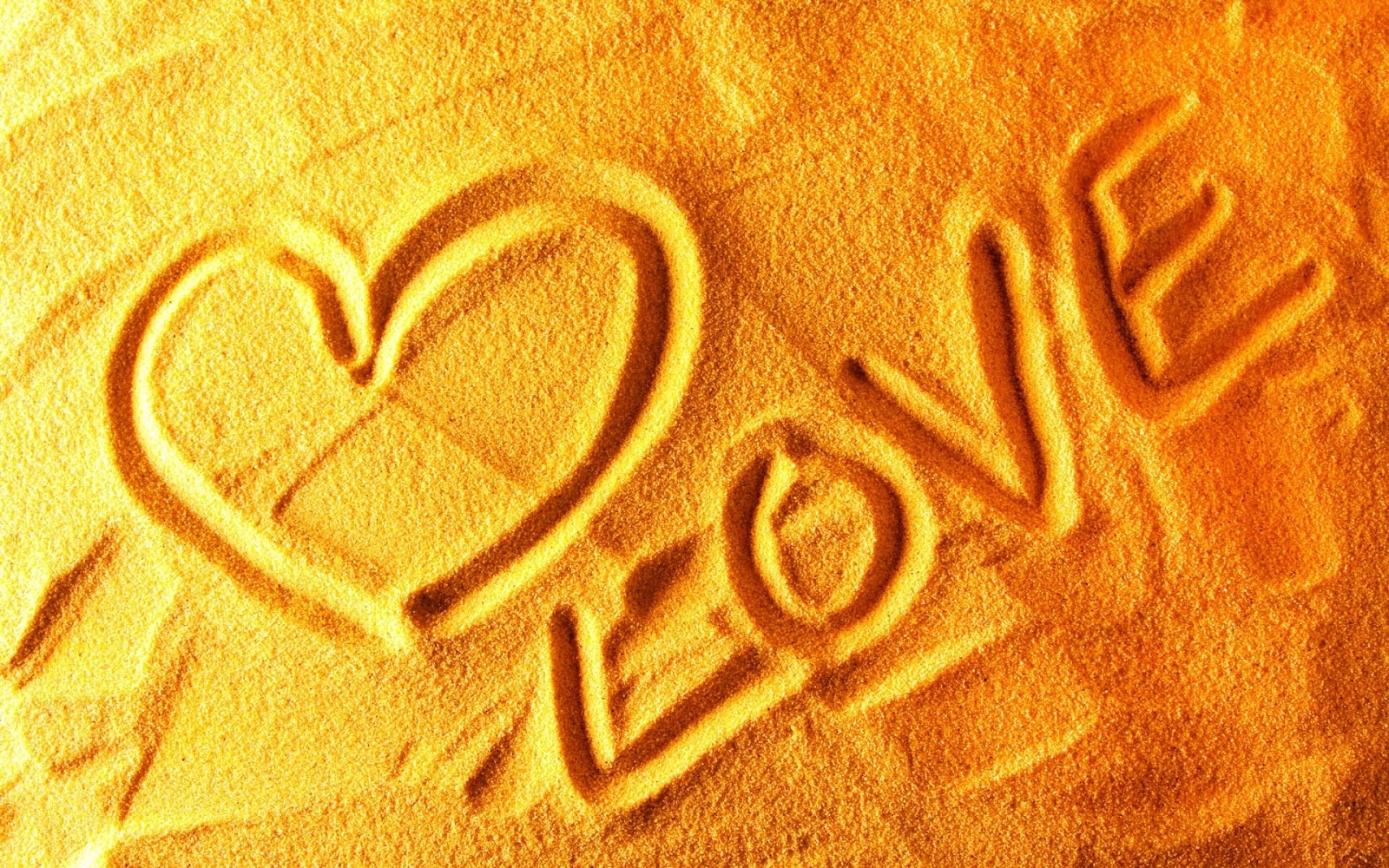 Love Sand 1920x1200 Wallpaper