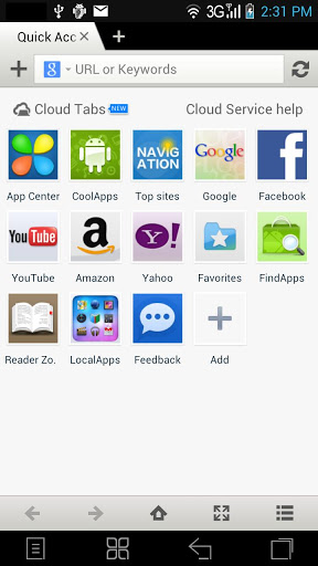 Maxthon Android Web Browser