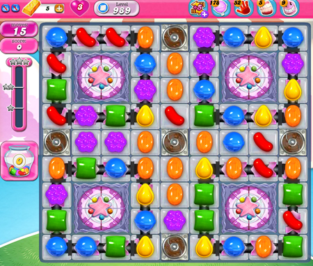 Candy Crush Saga 989