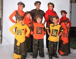 Model Baju Pesta Keluarga Sarimbit 2014