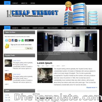 Cheap Webhost blogger template. blogger template 3 column footer. game template blogspot free
