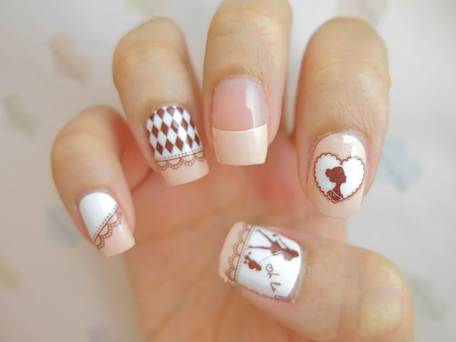 Princess Nail Art Nail Wrap A1028 Chichicho