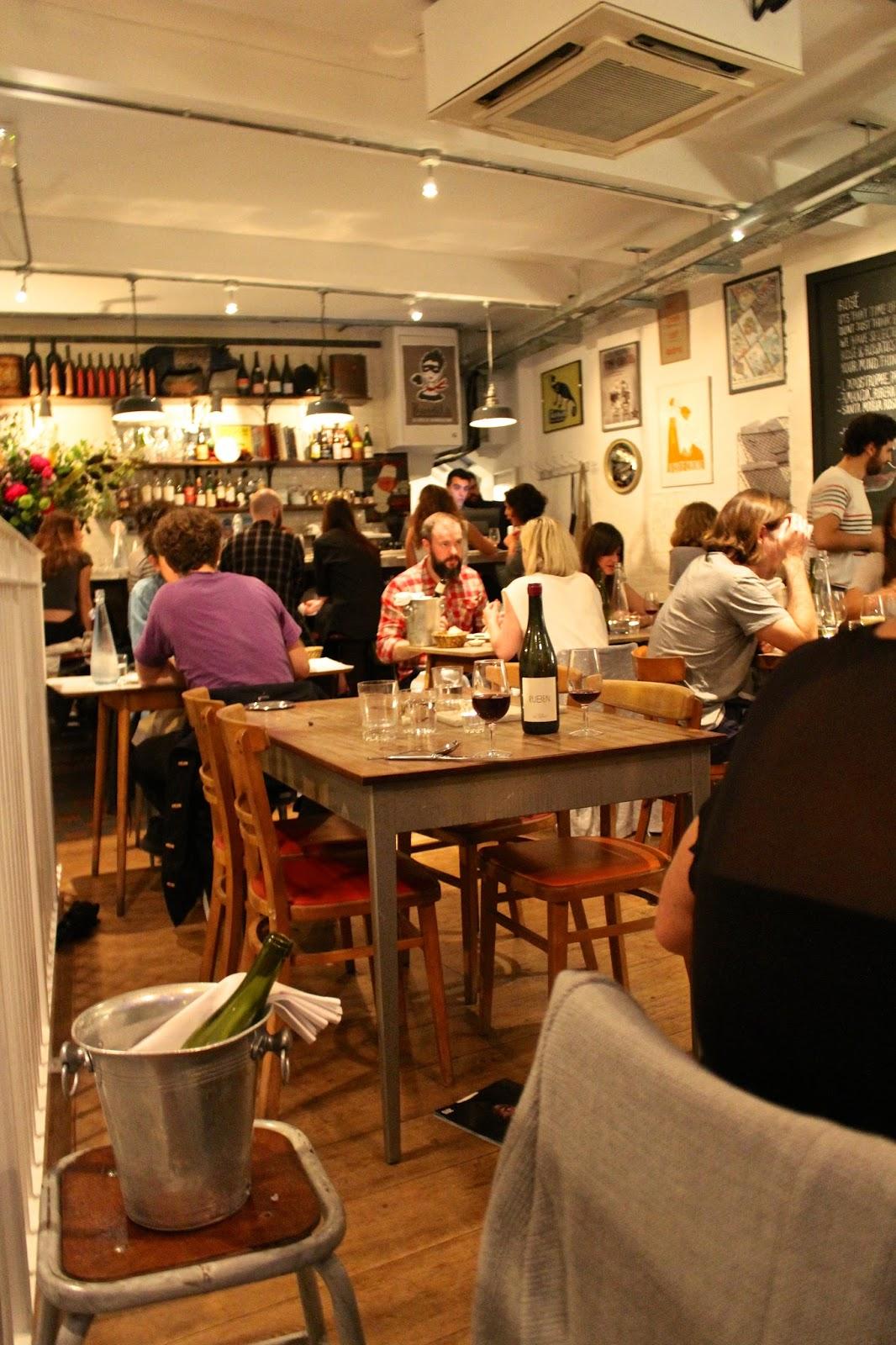 Brawn Restaurant Columbia Road