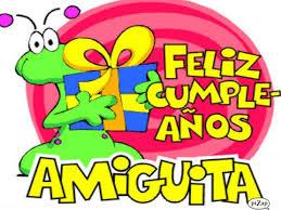 Frases Para Cumpleaños: Feliz Cumpleaños Amiguita
