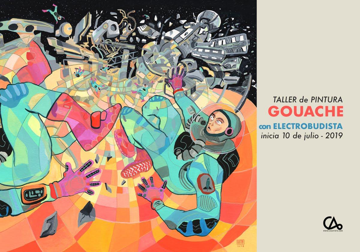 Pintura con GOUACHE // 10 de jul