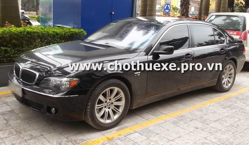 Cho thuê xe cưới BMW 760Li tại Hà Nội 1