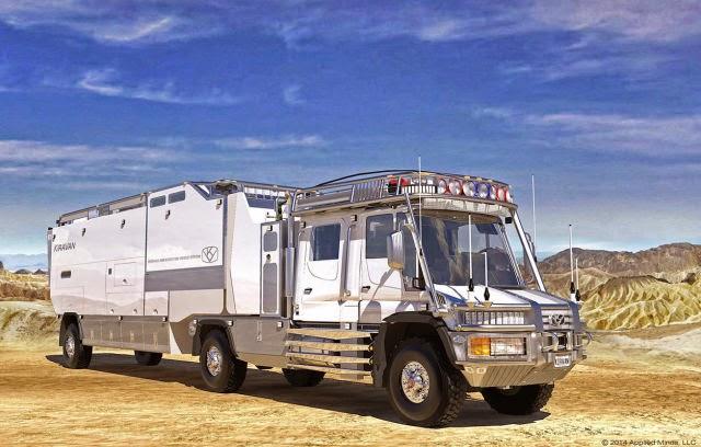 Lüks karavan