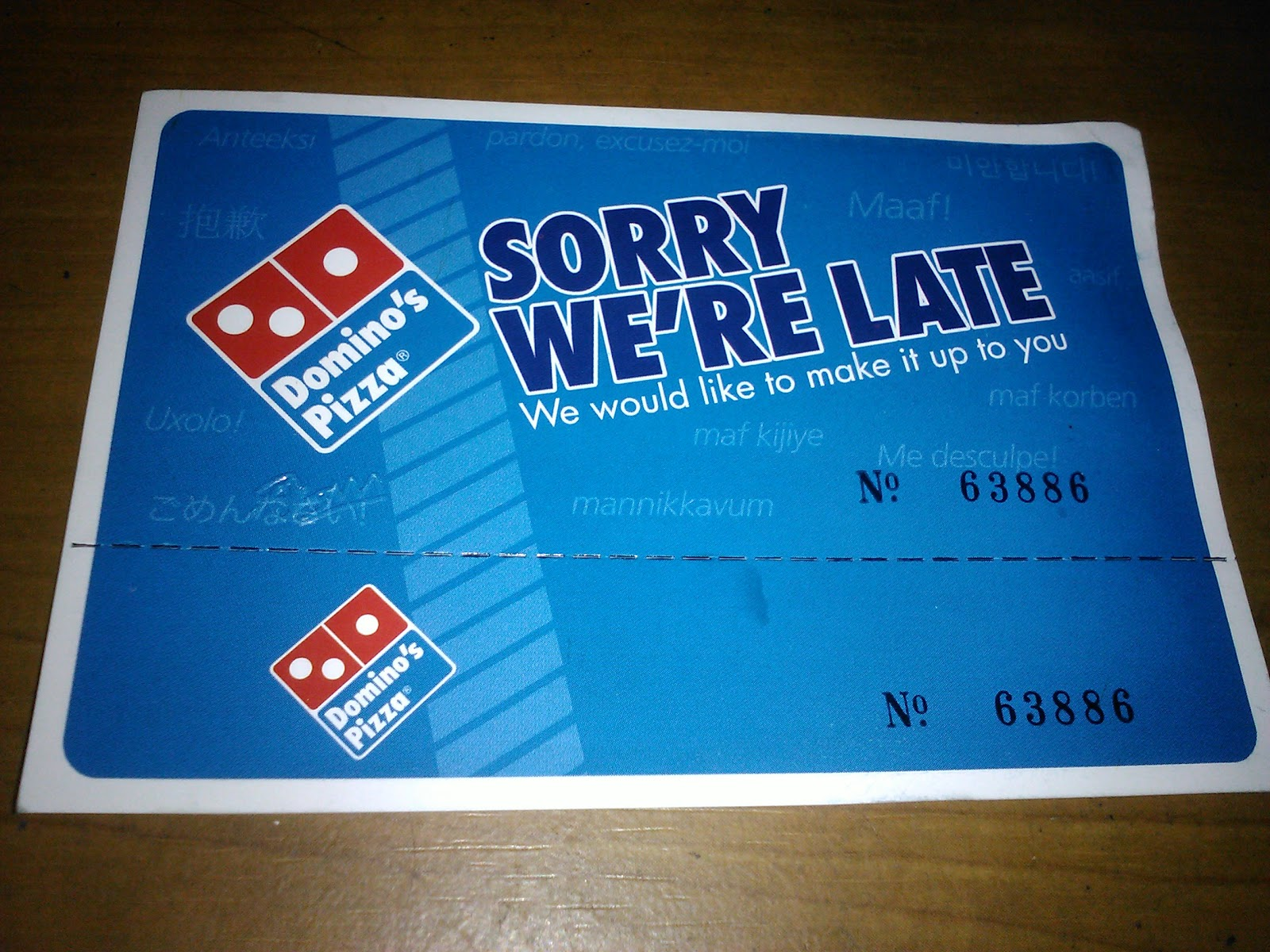 Free delivery coupons for dominos pizza