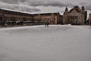 Plaza de la Estación en Helsinki