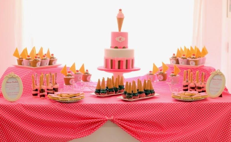 4 tartas decoradas con helados decoracin fiestas cake in - Decoracion de helados ...
