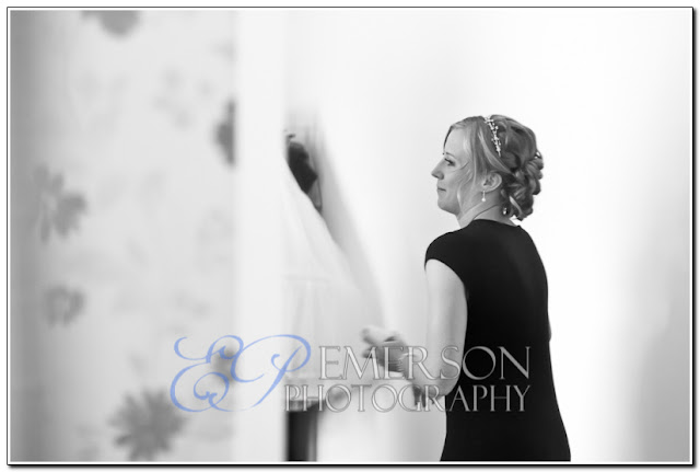 bridal preparation wedding photograph in sunderland by jamie emerson